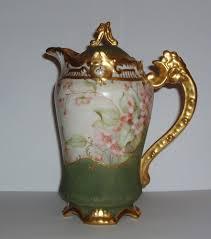 austrian vases antique p h leonard antique austrian porcelain chocolate pot hand