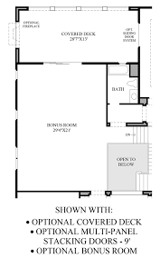 How To Draw Sliding Doors In Floor Plan by Ashbury At Alamo Creek The Laurelwood Ca Home Design