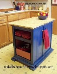 kitchen islands furniture a cool kitchen island made from two nightstands hometalk