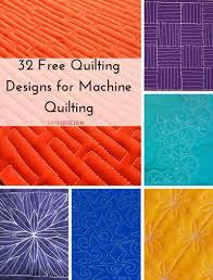 32 free quilting designs for machine quilting favequilts com