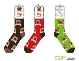 new years socks odm year of the pug socks new year gift