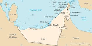 map of the uae maps of uae emirates travel guide