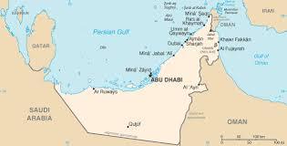 uae map maps of uae emirates travel guide
