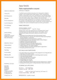 Sample Sales Rep Resume by 5 Sales Representative Resume Sample Nurse Resumed
