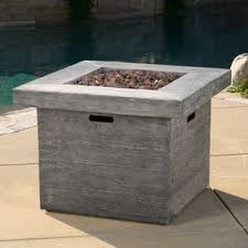 Propane Fire Pits With Glass Rocks by Outdoor Fireplaces