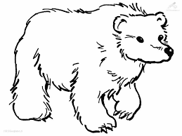 black bear coloring pages 9844 bestofcoloring com