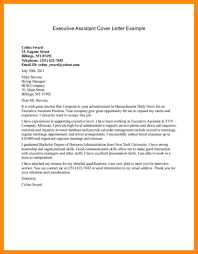 cover letter for an administrative assistant levels