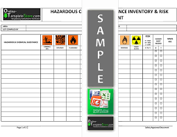 assessment templates health u0026 safety forms construction templates