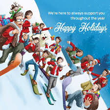 merry and happy holidays we wish you a happy