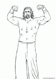 roman reigns wwe coloring pages printable