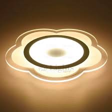 Acrylic Ceiling Light Best Acrylic Shade Flower Shaped Flush Mount Led Ceiling Lights