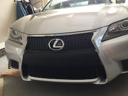 lexus sport black gs 350 front bumper black to match sport grill page 2