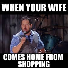 Shopping Meme - my wife makes me play price is right youtube