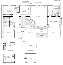 4 Bedroom 2 Bath Mobile Homes Triple Wide Mobile Home Floor Plans Manufactured U0026 Mobile Homes