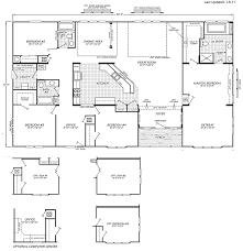 Double Wide Homes Floor Plans Triple Wide Mobile Home Floor Plans Manufactured U0026 Mobile Homes