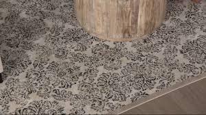 inspire me home decor designer vintage damask area rugs u2014 qvc com