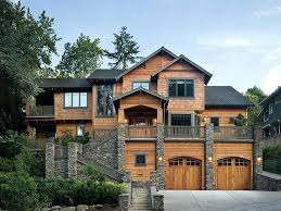front sloping lot house plans shingle style house plans design beautiful and shingle style