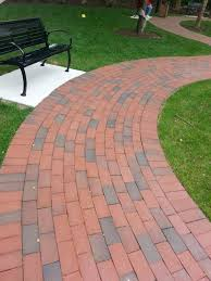 Red Brick Patio Pavers by Fresh Red Brick Walkways 20982