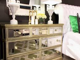 Mirrored Desks Furniture Furniture Magnificent White And Mirrored Nightstand Mirrored