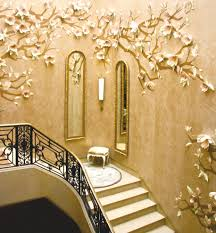 decoration beautiful white wooden staircase wall design for your