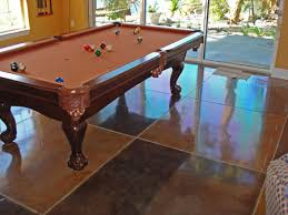 How Much Does A Pool Table Cost What Is The Cost Of Polished Concrete Floors