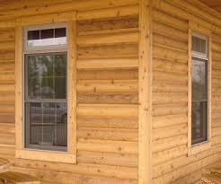 2x8 cedar log siding stk grade building materials