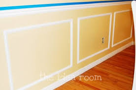 Cost Of Wainscoting Panels - diy faux wainscotting the idea room