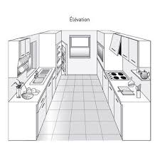 plans de cuisine plan de cuisine les différents types kitchens mini kitchen and