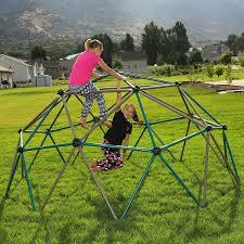 amazon com lifetime geometric dome climber play center earthtone