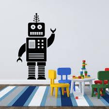 online get cheap kids wall stickers lego aliexpress com alibaba cartoon robot wall sticker boy room baby nursery cute lego robot wall decal kids room children
