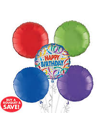 30th birthday balloon bouquets birthday balloon bouquets party city