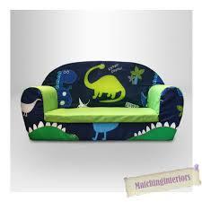 sofa chair for toddler children u0027s beanbag chair dinosaurs blue boys kids bedroom