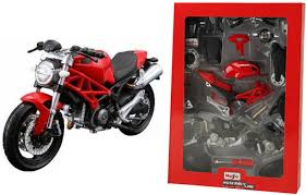 maisto ducati monster 696 assembly line kit motorcycle ducati