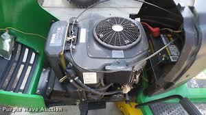 john deere 6110 lawn mower item dr9545 sold august 16 v