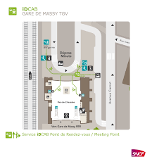 Tgv Map France by Book A Cab At Massy Tgv Station With Idcab Idcab