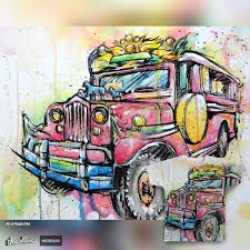 jeepney drawing score jeepney by rtcifra on threadless