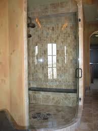 frosted glass shower door frameless