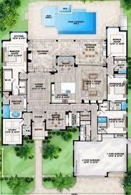 Mediterranean House Plans With Courtyard Spanish Hacienda Courtyard Spanish Style Home Plans With