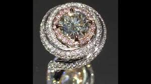cartier diamond rings images 3 cttw round and pink diamond cartier style engagement ring jpg