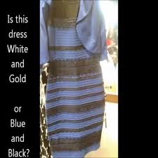 Dress Meme - what color is this dress meme is it black and blue is it white