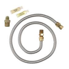 flexible gas line dryer gas dryer installing flexible gas line