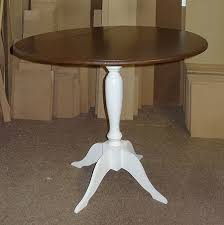 How To Make A Pedestal Table Easy Way To Make A Drop Leaf Dining Table 5 Steps With Pictures