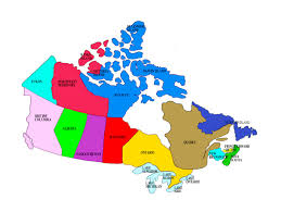 Ontario Canada Map Simple Map Of Canada Image Gallery Hcpr