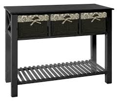 Jysk Bar Table Dina Console Table Black