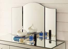 Vanity Folding Mirror Tri Fold Vanity Mirror And Other Purpose U2014 Doherty House