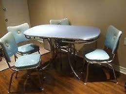 vintage dining set ebay