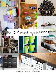 diy family shoe storage solutions andrea u0027s notebook