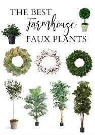 Best Plants For Bedroom Home The Best Farmhouse Faux Plants Lauren Mcbride