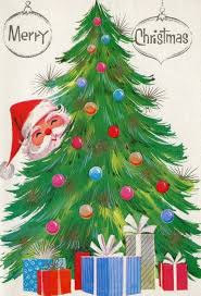 christmas greeting cards 386 best christmas vintage trees images on vintage