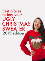 where buy your ugly christmas sweater 2015 edition lime
